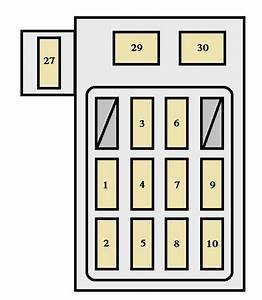 Toyota Corolla  1992 - 1996  - Fuse Box Diagram