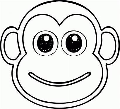 Coloring Head Monkey Jack Skellington Cool Popular