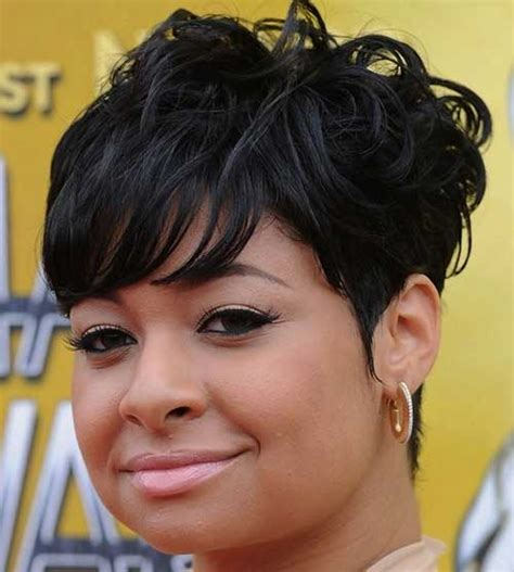 short hairstyles  black women   faces short