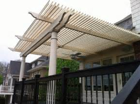 louvered deck roof diy crafts