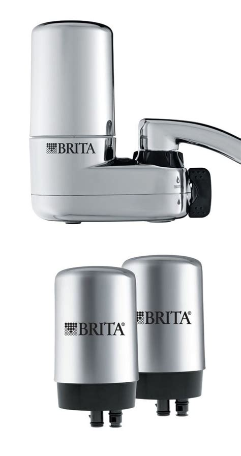 brita faucet replacement filter chrome brita water faucet filtration chrome system 2 filters