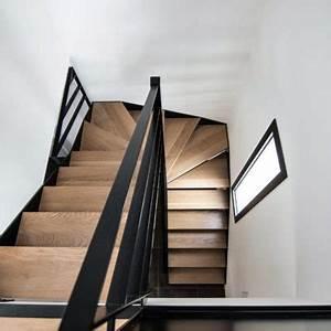Escalier Metal Et Bois : escaliers de maison individuelle m tallerie martin ~ Dailycaller-alerts.com Idées de Décoration