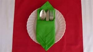 Pliage De Serviette En Papier Facile : pliage de serviette pour no l id es et conseils ~ Melissatoandfro.com Idées de Décoration