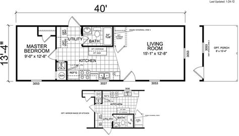 3 bedroom house floor plans manufactured mobile homes carolina virginia