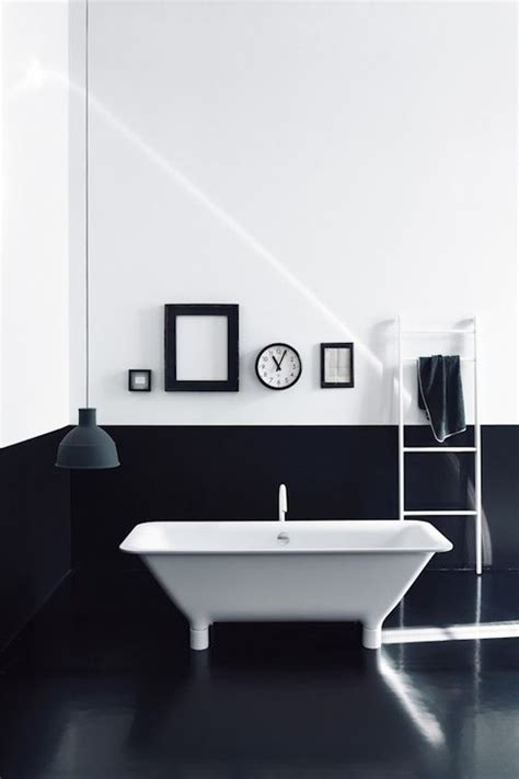 black and white bathroom salle de bains noir et blanc decoration for house
