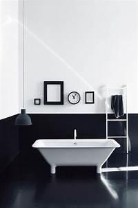 Déco Salle De Bain Noir Et Blanc : black and white bathroom salle de bains noir et blanc decoration for house ~ Melissatoandfro.com Idées de Décoration