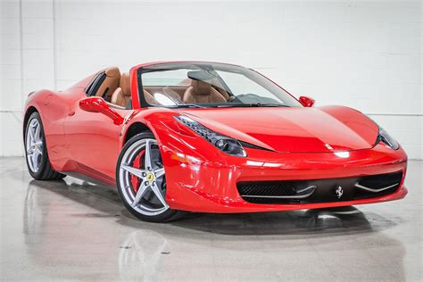 How would i know, but i can tell you that the spider models cost a little more than a standard ferrari. 2012 Ferrari 458 Spider   Fusion Luxury Motors