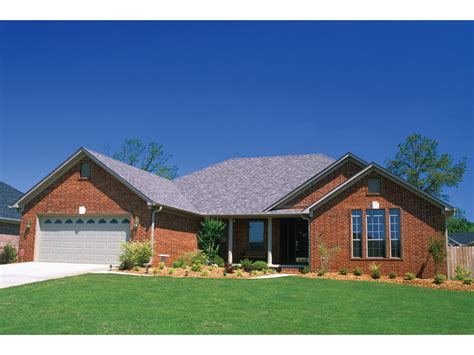 brick home floor plans brick home ranch style house plans ranch style homes