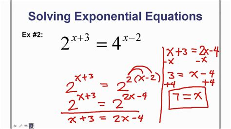 Solving Simple Exponential Equations Tessshebaylo