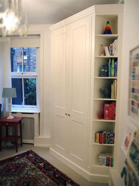 classic built  corner wardrobe bespoke furniture