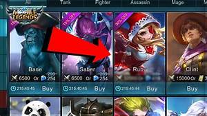 Mobile Legends RUBY RUBY CAT GIRL COST CONFIRMED YouTube