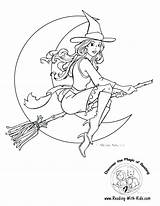 Coloring Witch Hat Sun Pages Colouring Getcolorings Printable Baseball sketch template
