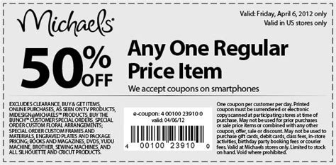 arts and crafts coupons arts and crafts coupons coupons for 6912