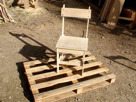 Fabriquer Chaise En Palette