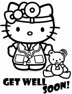 HELLO KITTY COLORING PAGES | Preschool lessons | Pinterest ...