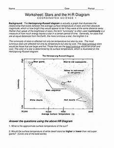 Worksheet  Hertzsprung