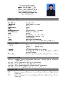 academic resume for college admission application letter cv