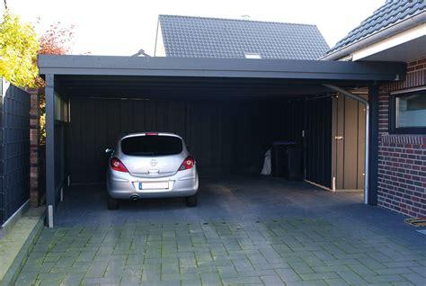 Carport An Garage by Carport An Garage Anbauen Das Sollten Sie Beachten Steda
