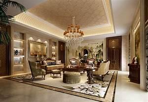 Luxury, Living, Room, 3d, Model, Max
