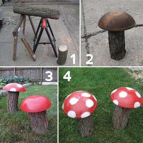 yard ornaments to make 25 best ideas about garden mushrooms on pinterest diy yard decor garden crafts and diy
