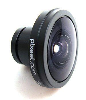 fisheye lens for iphone pixeet panorama iphone fisheye lens kit review the gadgeteer