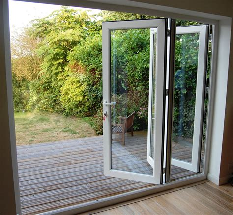 folding exterior glass doors grabill windows and doors