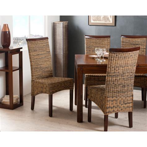 chaise en rotin but chaise rotin bi couleur meubles macabane meubles et