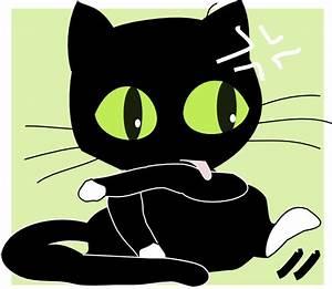 Antontw Black Cat Clip Art at Clker.com - vector clip art ...