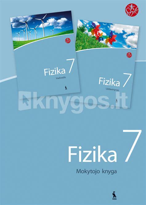 Fizika VII klasei. Mokytojo knyga (ŠOK)   Knygos.lt
