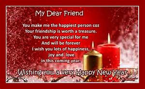 New Year Wish For A Special Friend. Free Friends eCards ...