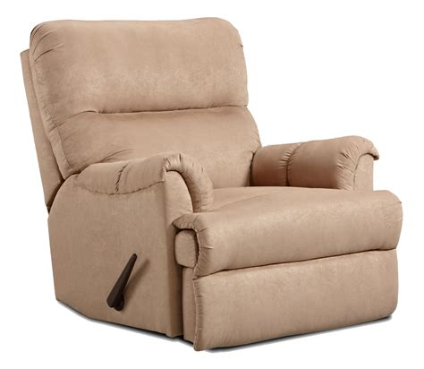 affordable furniture   casual chaise rocker