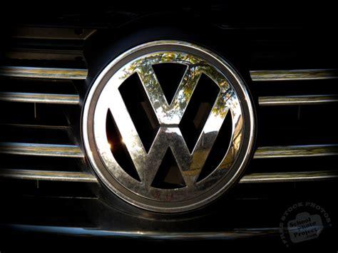 vw logo  stock photo image picture volkswagen logo