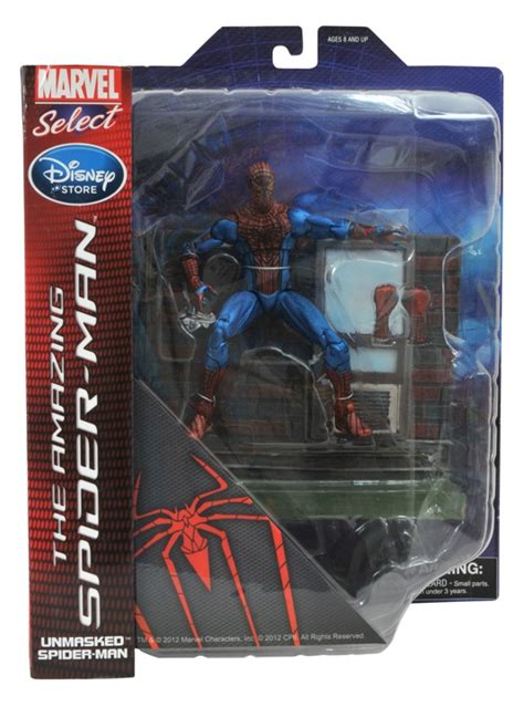 dst disney store exclusive marvel select  spiderman