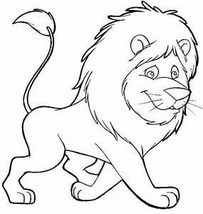 Lion Cartoon Colouring Pages Sketch Coloring Page