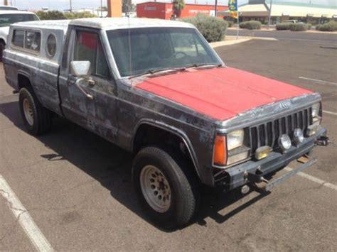1986 jeep comanche 4x4 sell used 1986 jeep comanche 130k original miles arizona