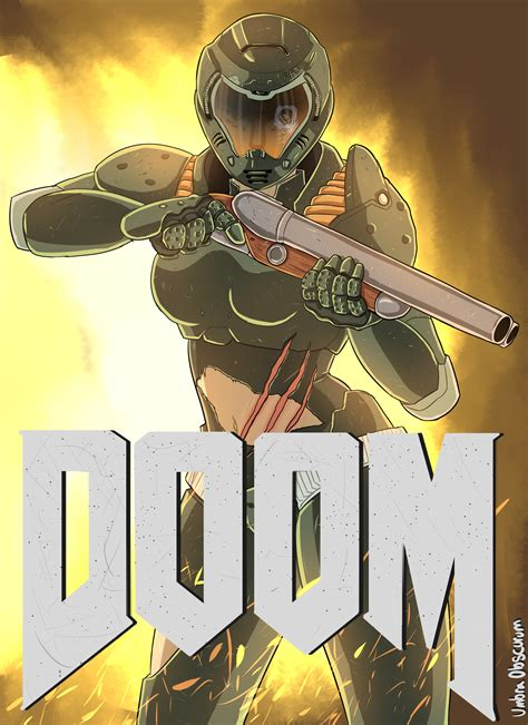 umbra wall doom 4 cover by umbraobscurum on newgrounds