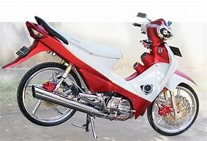 Gambar Modifikasi Motor Honda Supra Fit Fungky Dan Keren