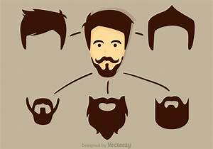 Pics For > Hipster Beard Vector