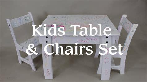 kids table chair set   single sheet  plywood