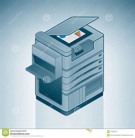 grande imprimante laser de bureau photos stock image 14430213