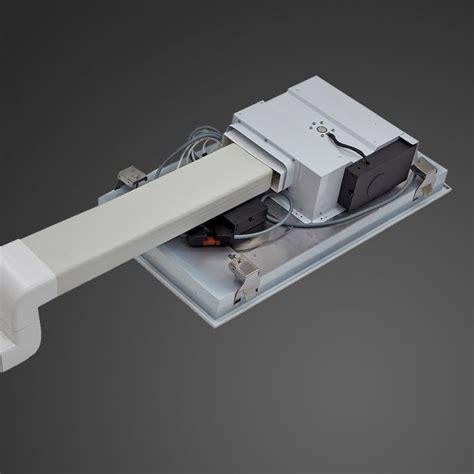 anzi ceiling cooker hood slimline motor white luxair