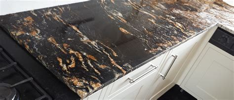 granite kitchen bar cosmic black granite slabs worktops flooring wall