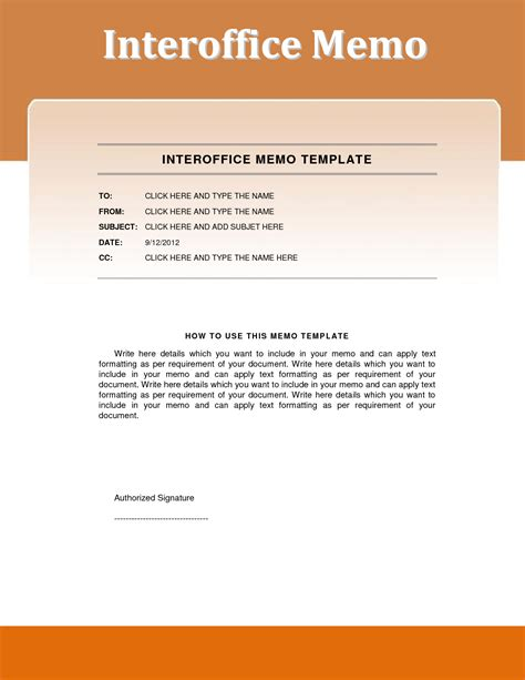 Memo Template Top 5 Resources To Get Free Interoffice Memo Templates