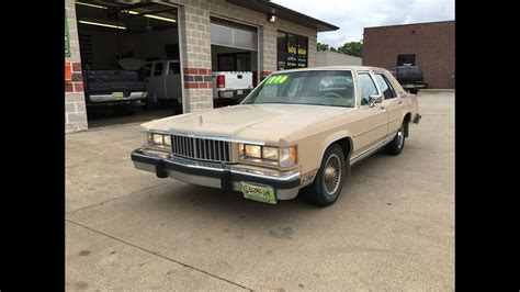 free car manuals to download 1986 mercury marquis engine control 1986 mercury grand marquis sold youtube