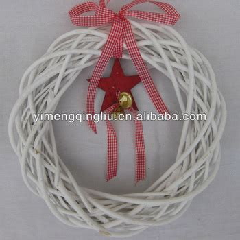 decorative wicker christmas wreath decorations wholesale