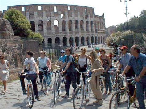 recorrer roma en bicicleta