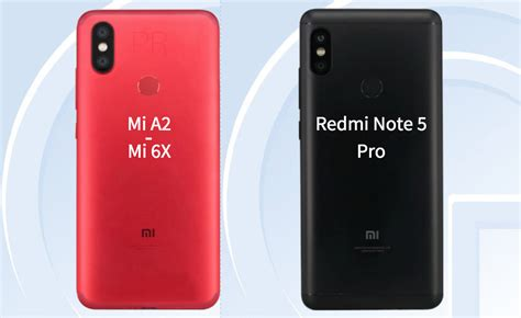 xiaomi mi 6x mi a2 with 20mp front rear cameras launched in china 187 phoneradar