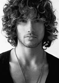 Long Hairstyles with Curly Hair Men