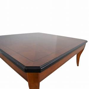 75 off cherry wood square coffee table tables With cherry wood square coffee table