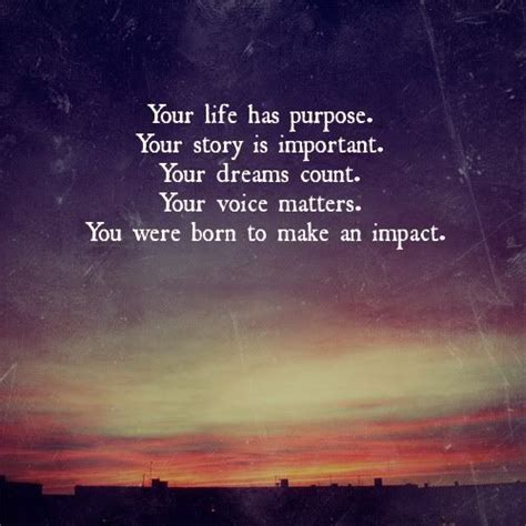 What Is Important To You In Your by Your Has Purpose Your Story Is Important Your
